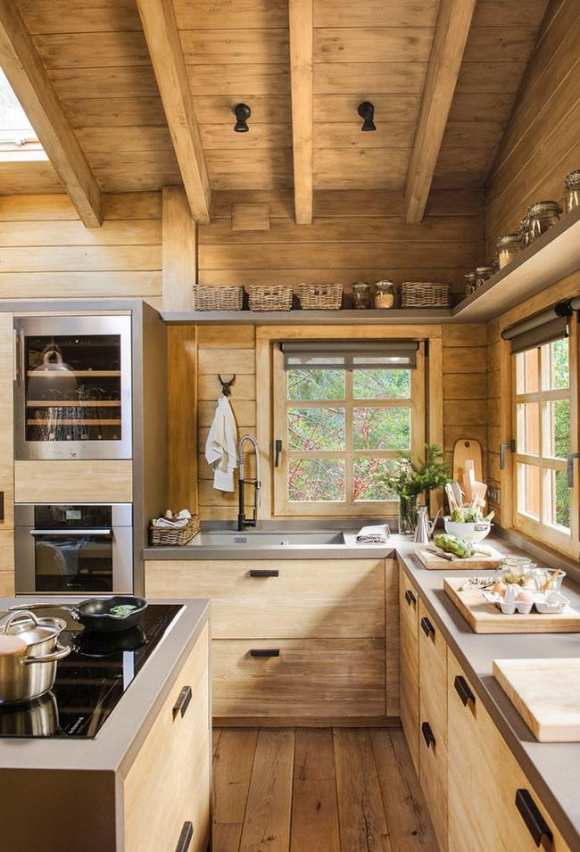 Thiết kế nhà gỗ cho ngôi nhà luôn ấm áp trong những ngày đông lạnh giá - Ảnh 2.