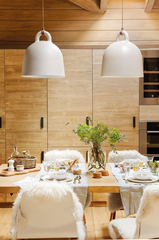 Thiết kế nhà gỗ cho ngôi nhà luôn ấm áp trong những ngày đông lạnh giá - Ảnh 3.