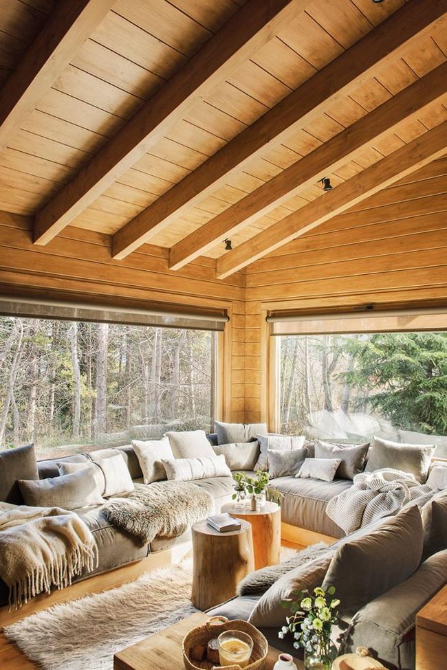 Thiết kế nhà gỗ cho ngôi nhà luôn ấm áp trong những ngày đông lạnh giá - Ảnh 5.