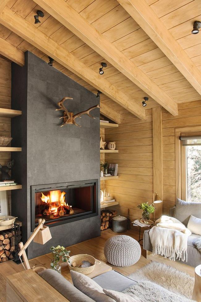 Thiết kế nhà gỗ cho ngôi nhà luôn ấm áp trong những ngày đông lạnh giá - Ảnh 6.
