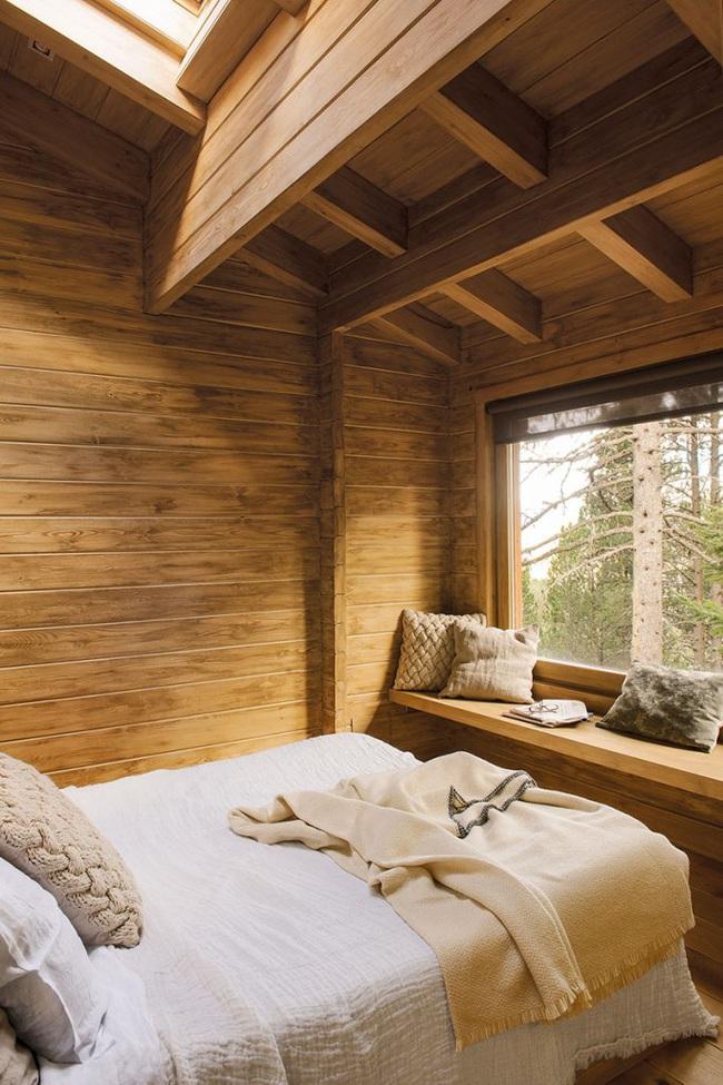 Thiết kế nhà gỗ cho ngôi nhà luôn ấm áp trong những ngày đông lạnh giá - Ảnh 9.