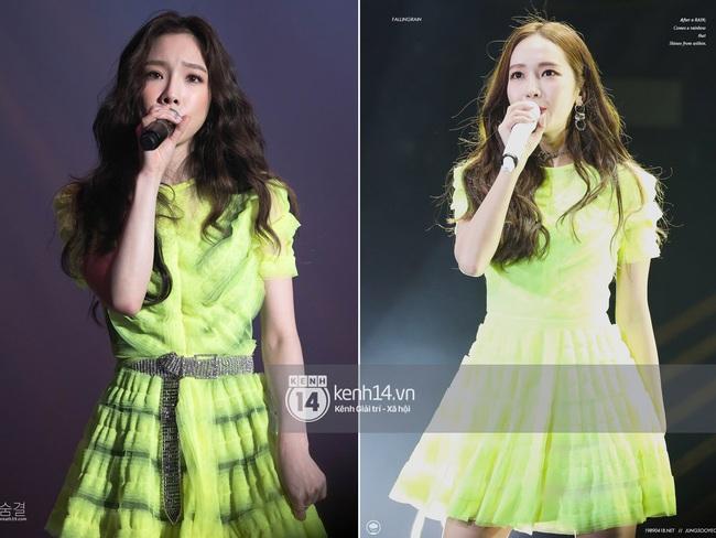 Cùng 1 chiếc váy: Taeyeon gợi cảm, khoe vòng 1 nóng bỏng bức người đến Jessica lại kín đáo, trẻ trung như nữ sinh - Ảnh 5.