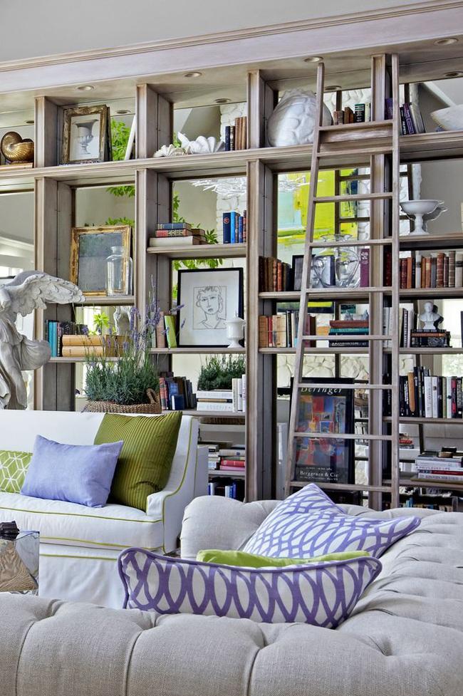 15 ý tưởng trang trí cho giá sách của bạn nổi bần bật trong không gian nhà ở - Ảnh 13.