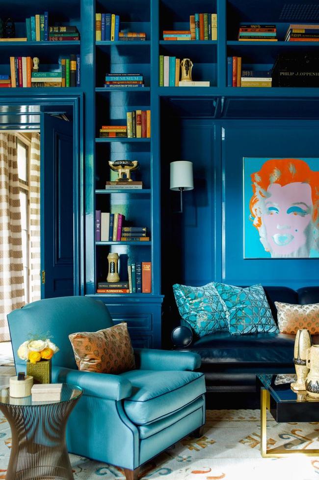 15 ý tưởng trang trí cho giá sách của bạn nổi bần bật trong không gian nhà ở - Ảnh 6.