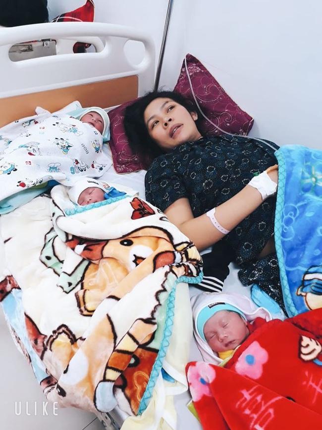 Mẹ Nghệ An sinh 1 lần được 2 trai, 1 gái nhưng biết được câu chuyện phía sau, mọi người càng ngỡ ngàng hơn - Ảnh 5.