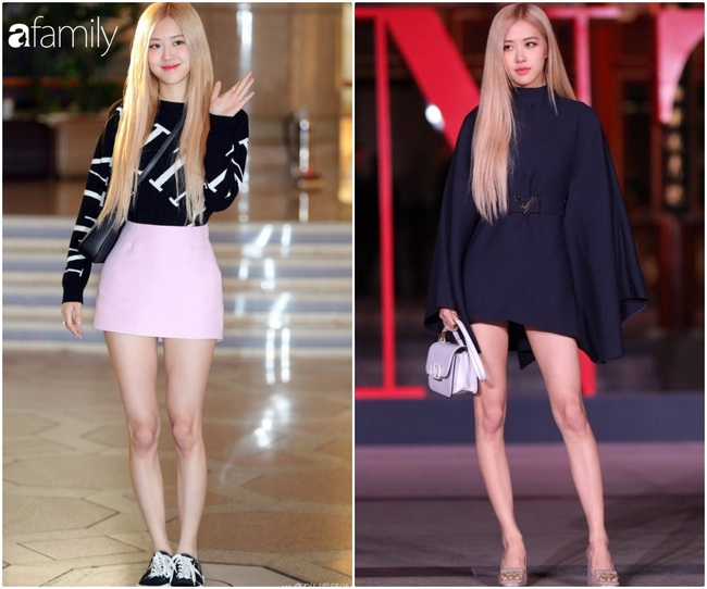 Rosé (Black Pink) diện set đồ gần 250 triệu, phô diện đôi chân cực phẩm như búp bê Barbie - Ảnh 1.
