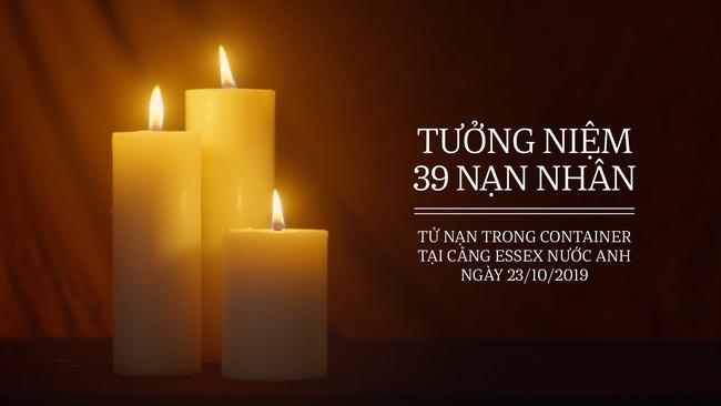 Tưởng niệm 39 nạn nhân tử nạn trong container tại cảng Essex nước Anh ngày 23/10/2019 - Ảnh 2.