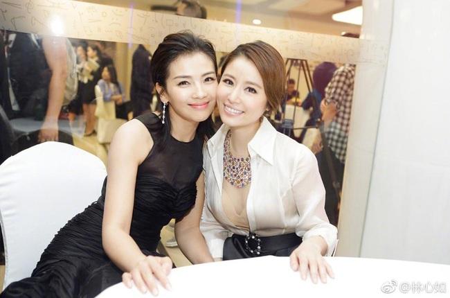 Màn đọ nhan sắc bất phân thắng bại giữa hai bà mẹ Lưu Đào và Lâm Tâm Như, cặp đôi tình bạn từ trong phim đến ngoài đời - Ảnh 5.