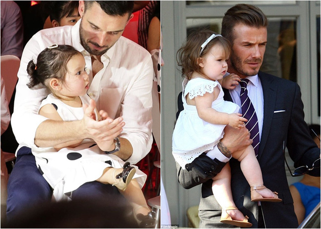 """Phát hiện thú vị của """"hội fan cuồng"""" con gái siêu mẫu Hà Anh: Từ thần thái đến gương mặt bé Myla đều rất giống Harper Beckham - Ảnh 7."""
