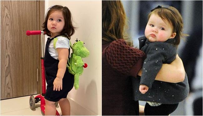 """Phát hiện thú vị của """"hội fan cuồng"""" con gái siêu mẫu Hà Anh: Từ thần thái đến gương mặt bé Myla đều rất giống Harper Beckham - Ảnh 5."""