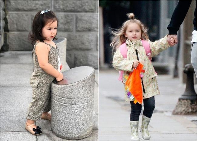"""Phát hiện thú vị của """"hội fan cuồng"""" con gái siêu mẫu Hà Anh: Từ thần thái đến gương mặt bé Myla đều rất giống Harper Beckham - Ảnh 1."""