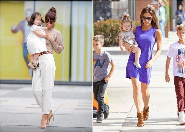 """Phát hiện thú vị của """"hội fan cuồng"""" con gái siêu mẫu Hà Anh: Từ thần thái đến gương mặt bé Myla đều rất giống Harper Beckham - Ảnh 10."""