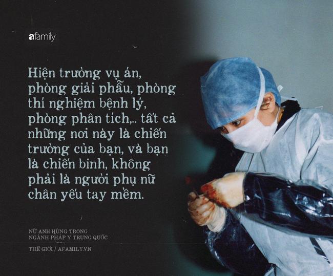 Nữ bác sĩ pháp y xinh đẹp nhất Trung Quốc: Phá bỏ định kiến giới tính trong công việc, bất chấp mọi hoàn cảnh để đưa sự thật ra ánh sáng - Ảnh 2.