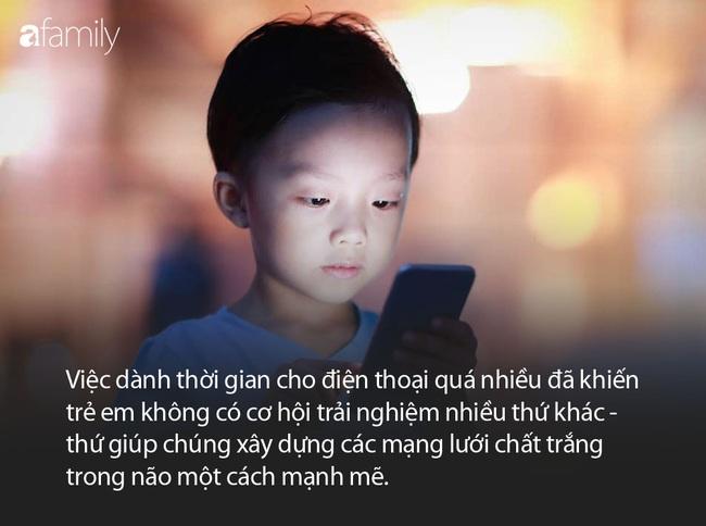 Kết quả MRIs cho thấy trẻ xem ipad, điện thoại hơn 1 giờ mỗi ngày não kém phát triển hơn hẳn - Ảnh 3.