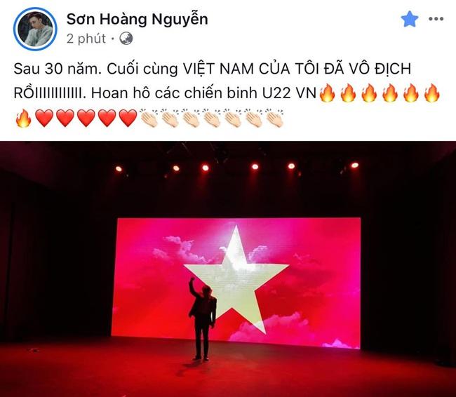 Việt Nam vô địch SEA Games, dàn sao Việt nô nức đi bão, mở tiệc ăn mừng linh đình - Ảnh 8.