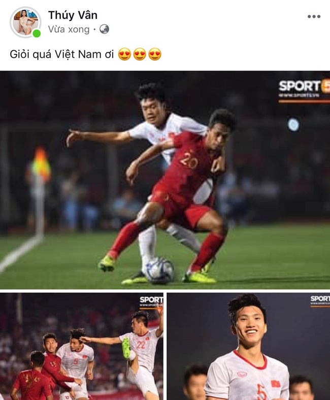 Việt Nam vô địch SEA Games, dàn sao Việt nô nức đi bão, mở tiệc ăn mừng linh đình - Ảnh 13.