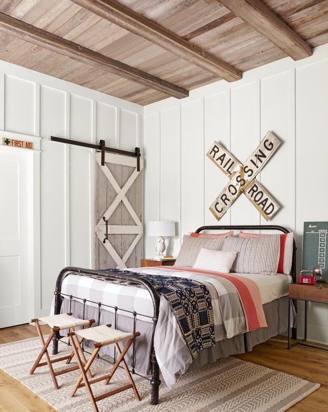 Ngôi nhà màu trắng đẹp ngỡ ngàng ở miền quê xanh mướt mát ai cũng phải thích mê - Ảnh 10.