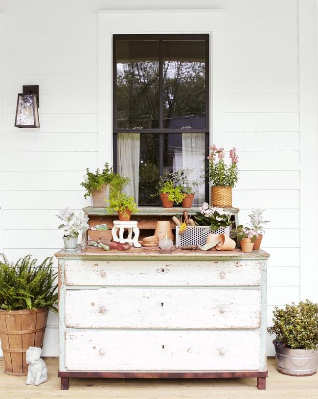 Ngôi nhà màu trắng đẹp ngỡ ngàng ở miền quê xanh mướt mát ai cũng phải thích mê - Ảnh 13.