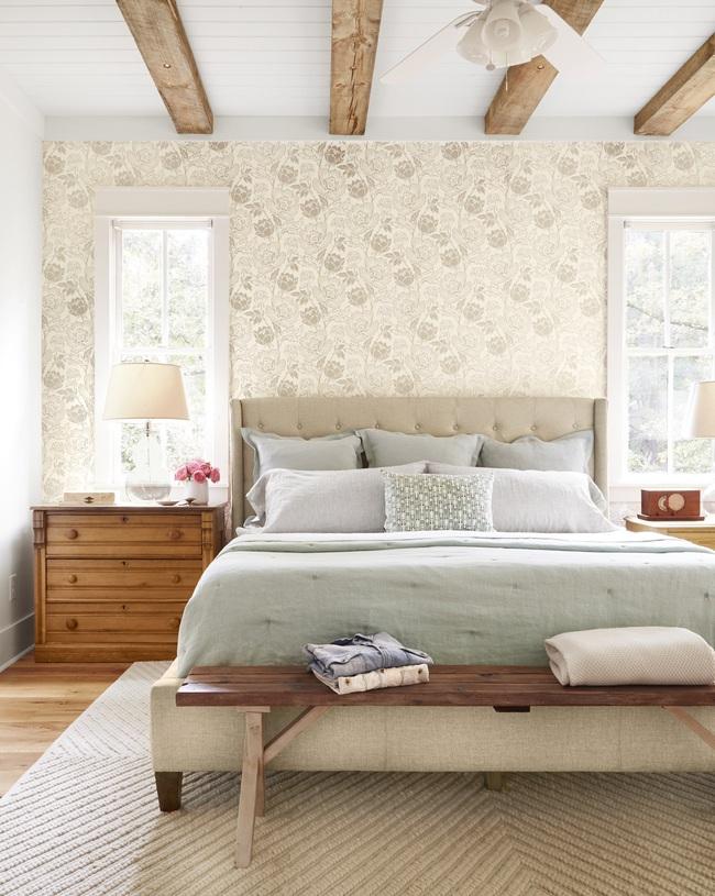 Ngôi nhà màu trắng đẹp ngỡ ngàng ở miền quê xanh mướt mát ai cũng phải thích mê - Ảnh 8.
