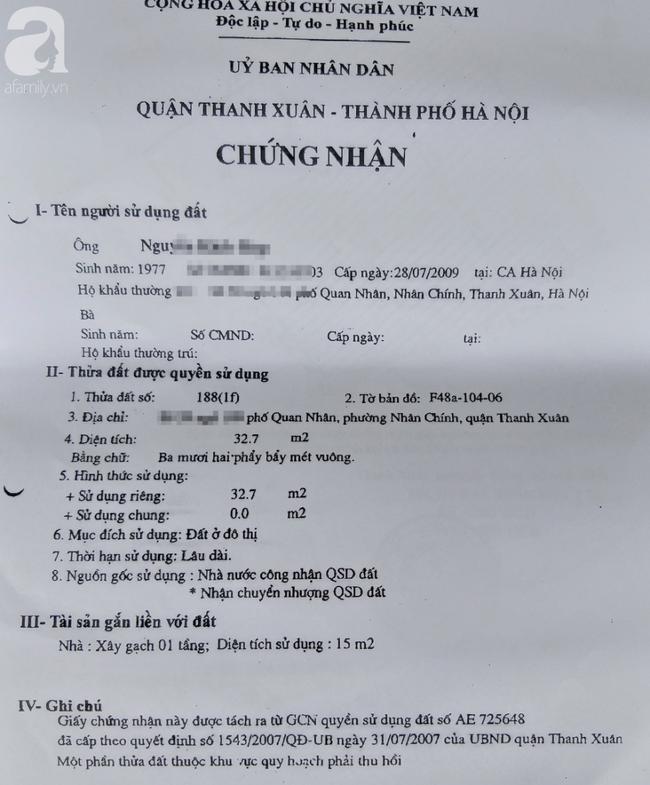 Vụ người người phụ nữ tự vẫn tại nhà riêng ở Hà Nội: Lộ ra hợp đồng thế chấp của chủ cũ - Ảnh 6.