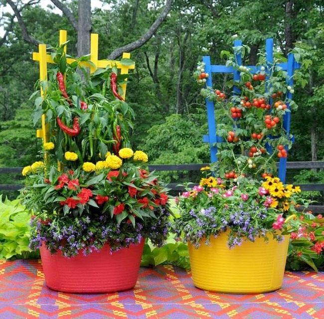 Những ý tưởng cùng mẹo thiết kế vườn rau siêu tuyệt vời giúp không gian nhỏ hẹp cũng thành đáng mơ ước - Ảnh 2.