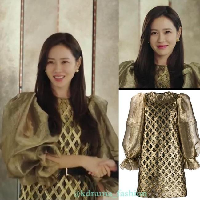 Phim khởi đầu hơi đuối, Son Ye Jin vẫn khiến dân tình lóa mắt với style ngập váy áo xa xỉ, chuẩn nữ thừa kế cơ nghiệp tỷ đô - Ảnh 4.
