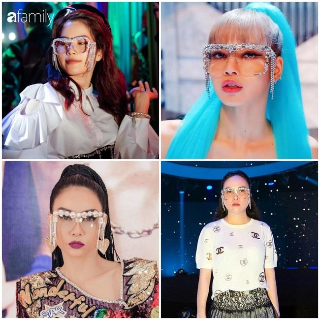 3 chiếc kính 4 số phận: Nam Em - Thu Minh bị tố đạo nhái Lisa (Black Pink), Phượng Chanel lại gây hoang mang - Ảnh 1.