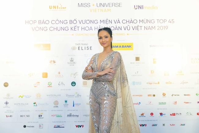 Hoa hậu H'Hen Niê mặc jumpsuit xuyên thấu: Sự chú ý của dân tình lại va ngay vào miếng lót ngực to lù lù - Ảnh 1.