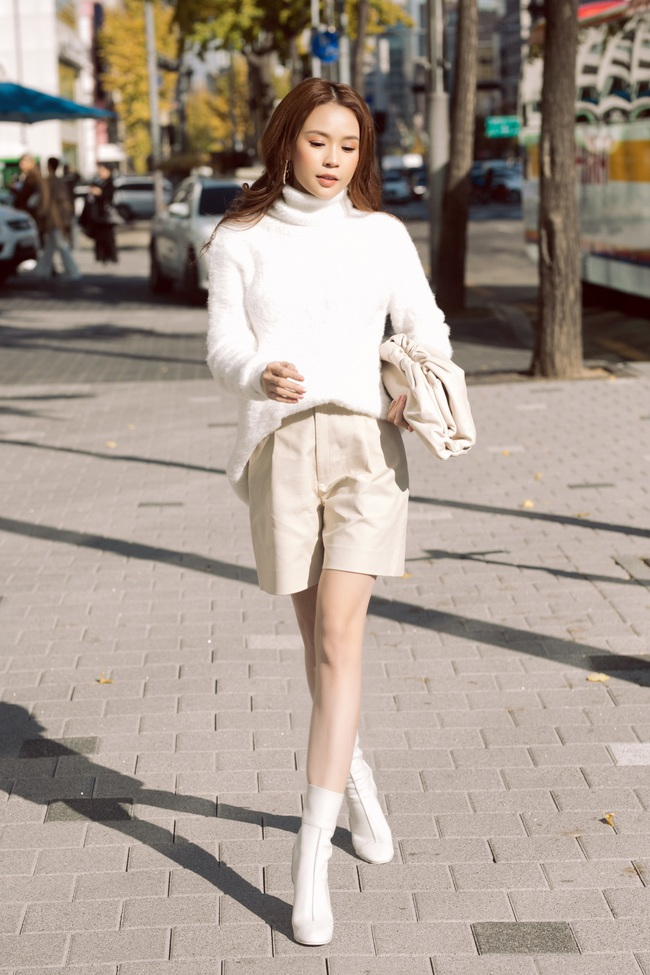 Hóa nàng thơ ngọt ngào trên đường phố Hàn Quốc, Sam nói về tình bạn với Ngô Kiến Huy - Ảnh 7.