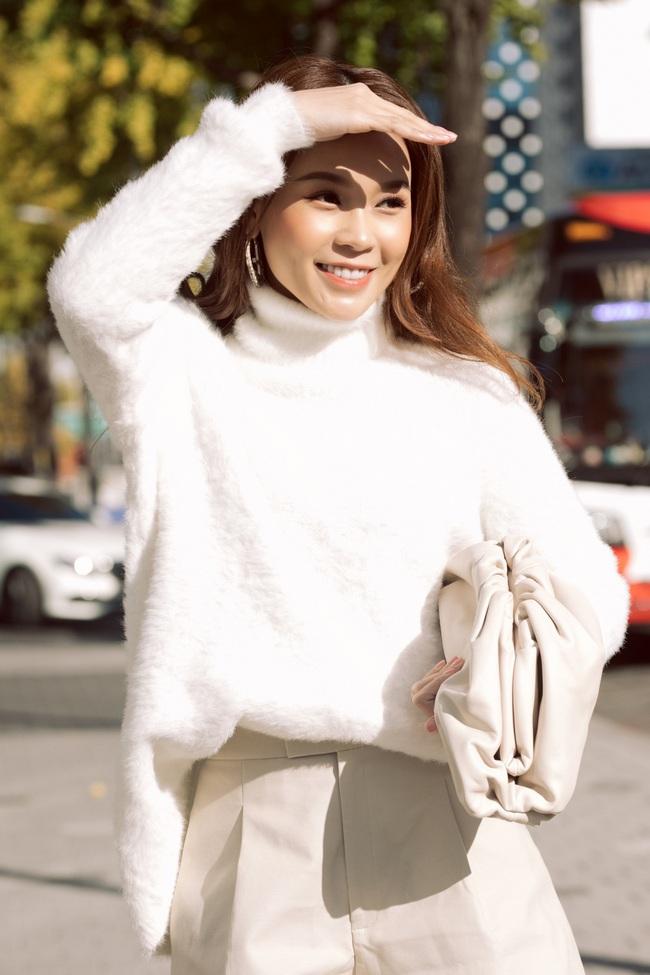 Hóa nàng thơ ngọt ngào trên đường phố Hàn Quốc, Sam nói về tình bạn với Ngô Kiến Huy - Ảnh 6.