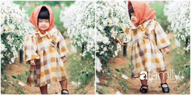 """Cười nghiêng ngả với bộ ảnh """"Đang đói còn bắt chụp hình"""" của bé gái giữa vườn cúc họa mi - Ảnh 6."""