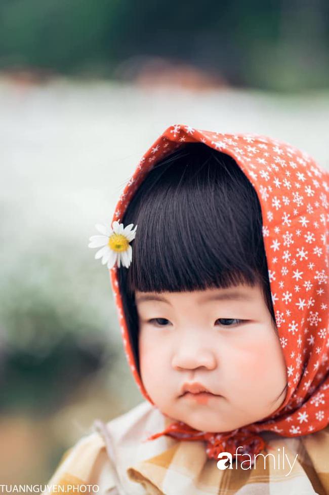 """Cười nghiêng ngả với bộ ảnh """"Đang đói còn bắt chụp hình"""" của bé gái giữa vườn cúc họa mi - Ảnh 3."""