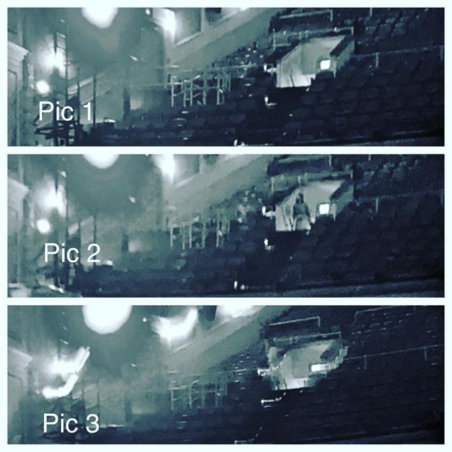 Diễn tập trong nhà hát cổ, nghệ sĩ piano phát hiện chi tiết đáng sợ trong bức ảnh chụp trước khi khám phá ra loạt lời đồn về nơi này - Ảnh 3.