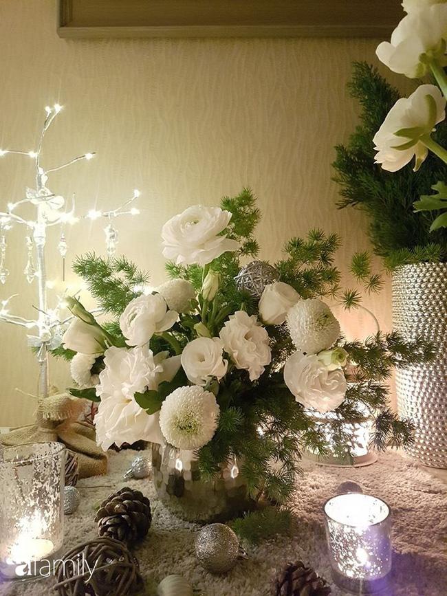 Ngắm những bình hoa tự cắm giúp tổ ấm thêm đẹp an lành đón Noel của những người phụ nữ Việt khéo tay - Ảnh 6.