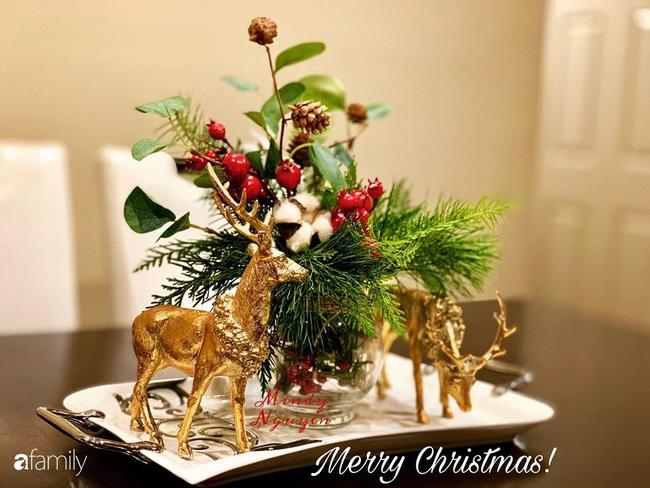 Ngắm những bình hoa tự cắm giúp tổ ấm thêm đẹp an lành đón Noel của những người phụ nữ Việt khéo tay - Ảnh 5.