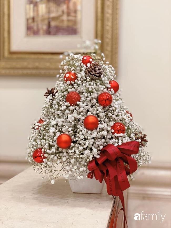 Ngắm những bình hoa tự cắm giúp tổ ấm thêm đẹp an lành đón Noel của những người phụ nữ Việt khéo tay - Ảnh 4.