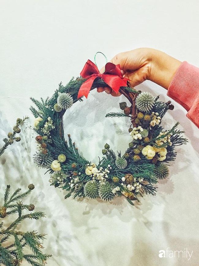 Ngắm những bình hoa tự cắm giúp tổ ấm thêm đẹp an lành đón Noel của những người phụ nữ Việt khéo tay - Ảnh 8.