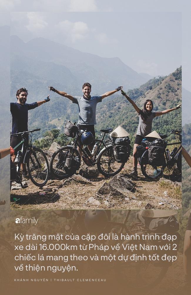 Những người trẻ chọn lối đi khó và chuyến trăng mật phiêu lưu kéo dài 1 năm, đội nón lá đạp xe 16.000km từ Pháp về Việt Nam - Ảnh 6.