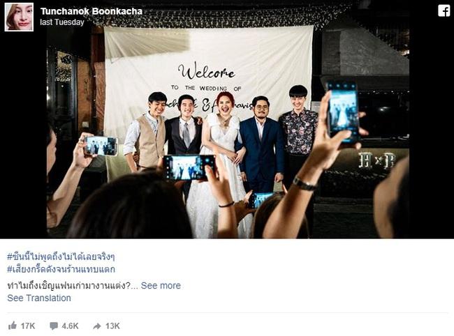 Cô gái trẻ đăng ảnh cưới lên Facebook, dân mạng liền đưa ra phản ứng trái chiều sau khi biết danh tính của những người trong hình - Ảnh 3.