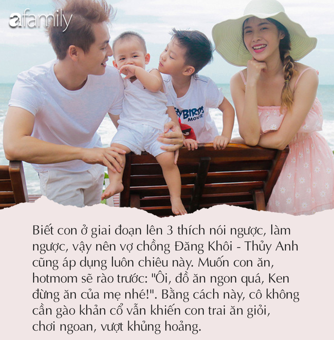 """Sao Việt và cách đối mặt khi con khủng hoảng tuổi lên 3: Vợ chồng Đăng Khôi mách """"mẹo nhỏ có võ"""", Phan Như Thảo lạc quan chấp nhận - Ảnh 3."""