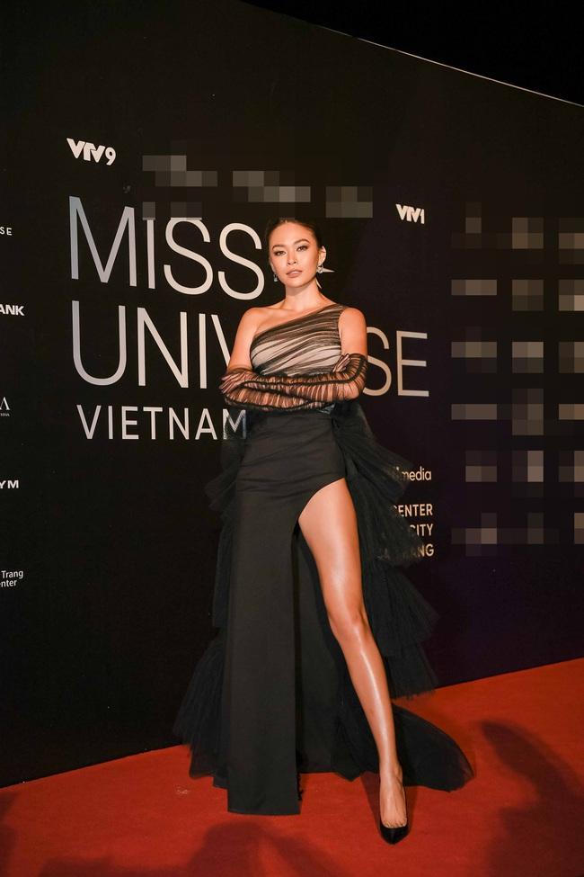 Thảm đỏ bán kết Hoa hậu Hoàn vũ Việt Nam 2019: Vũ Thu Phương quyền lực đọ dáng bên cạnh người đẹp Hương Giang - Ảnh 5.