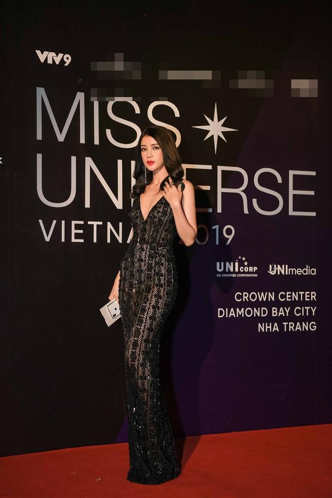 Thảm đỏ bán kết Hoa hậu Hoàn vũ Việt Nam 2019: Vũ Thu Phương quyền lực đọ dáng bên cạnh người đẹp Hương Giang - Ảnh 7.