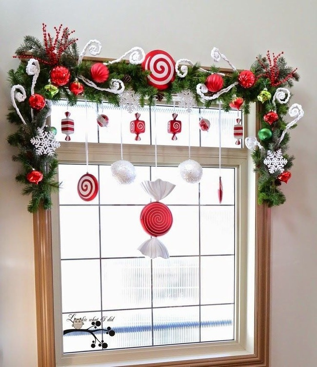 5 cách trang trí cửa sổ ngày Giáng sinh vô cùng dễ thương và bắt mắt - Ảnh 10.