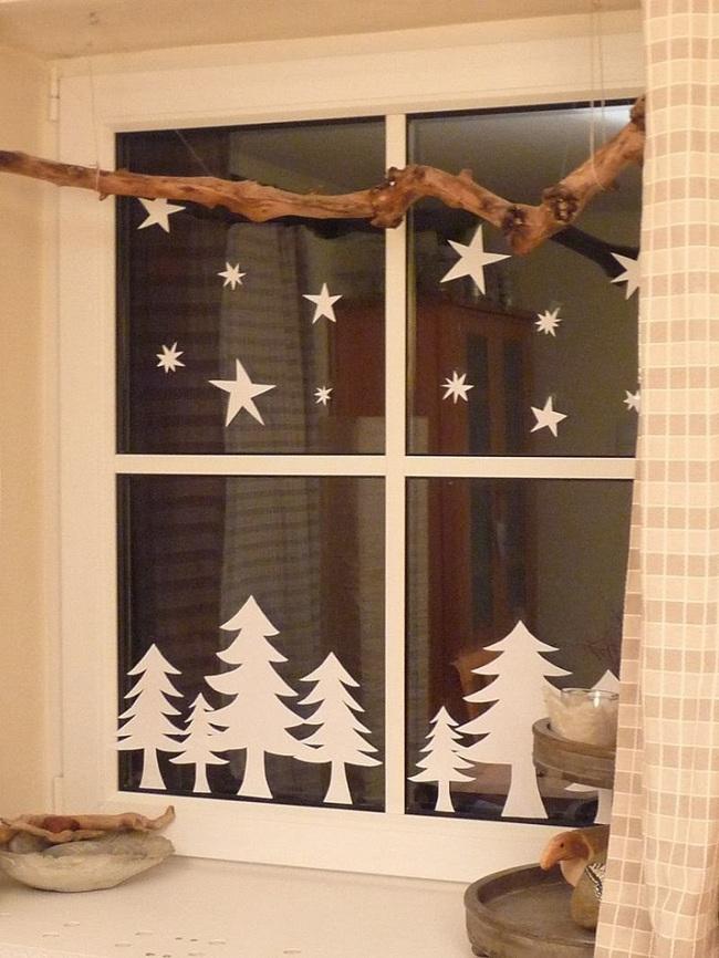 5 cách trang trí cửa sổ ngày Giáng sinh vô cùng dễ thương và bắt mắt - Ảnh 5.