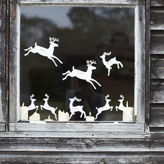 5 cách trang trí cửa sổ ngày Giáng sinh vô cùng dễ thương và bắt mắt - Ảnh 6.