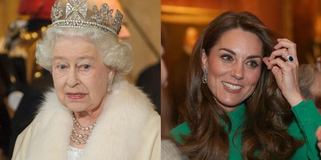 """Không phải nữ nhân Hoàng gia nào cũng được """"dùng chung"""" trang sức với Nữ hoàng Anh, nhưng cháu dâu Kate Middleton thì có - Ảnh 3."""