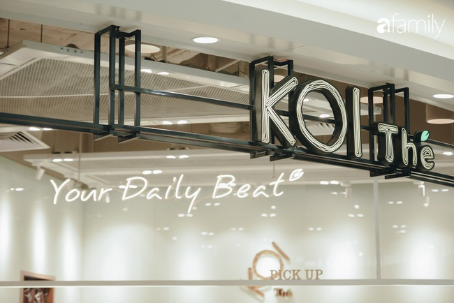 """Vừa ra mắt cửa hàng đầu tiên tại Aeon Mall Hà Đông, trà sữa trứ danh KOI Thé đã """"cháy hàng"""" - Ảnh 2."""