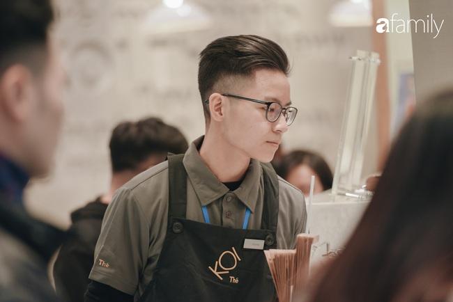 """Vừa ra mắt cửa hàng đầu tiên tại Aeon Mall Hà Đông, trà sữa trứ danh KOI Thé đã """"cháy hàng"""" - Ảnh 4."""