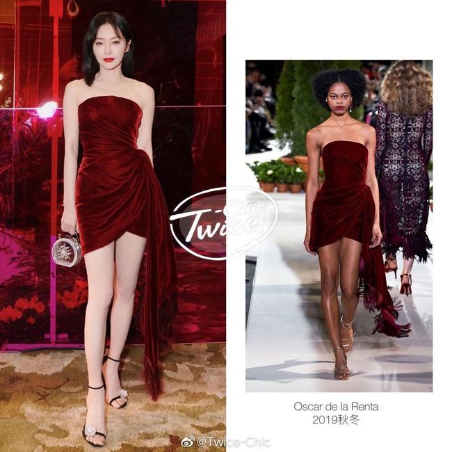 """Hai người đẹp """"Diên Hi Công Lược"""" cùng hội ngộ tại thảm đỏ thời trang: Khí chất Hoàng hậu vẫn hơn hẳn """"vợ lẽ"""" - Ảnh 2."""