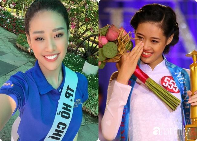 Tân Hoa hậu Khánh Vân: Xinh xắn từ bé, dậy thì thành công xuất sắc và tính ý sẽ phát hiện ra gương mặt một điểm khác biệt duy nhất - Ảnh 5.